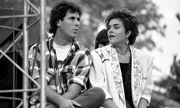 Vince Gill and Rosanne Cash